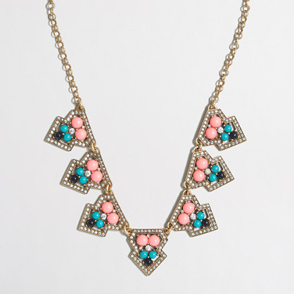Geometric clusters necklace