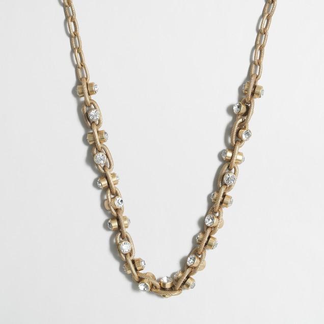 Crystal vine necklace