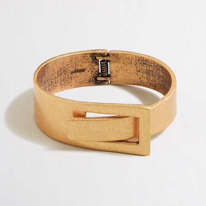 Interwoven metal bracelet