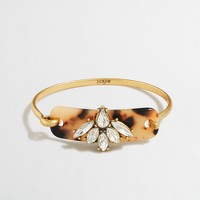 Tortoise piece bracelet