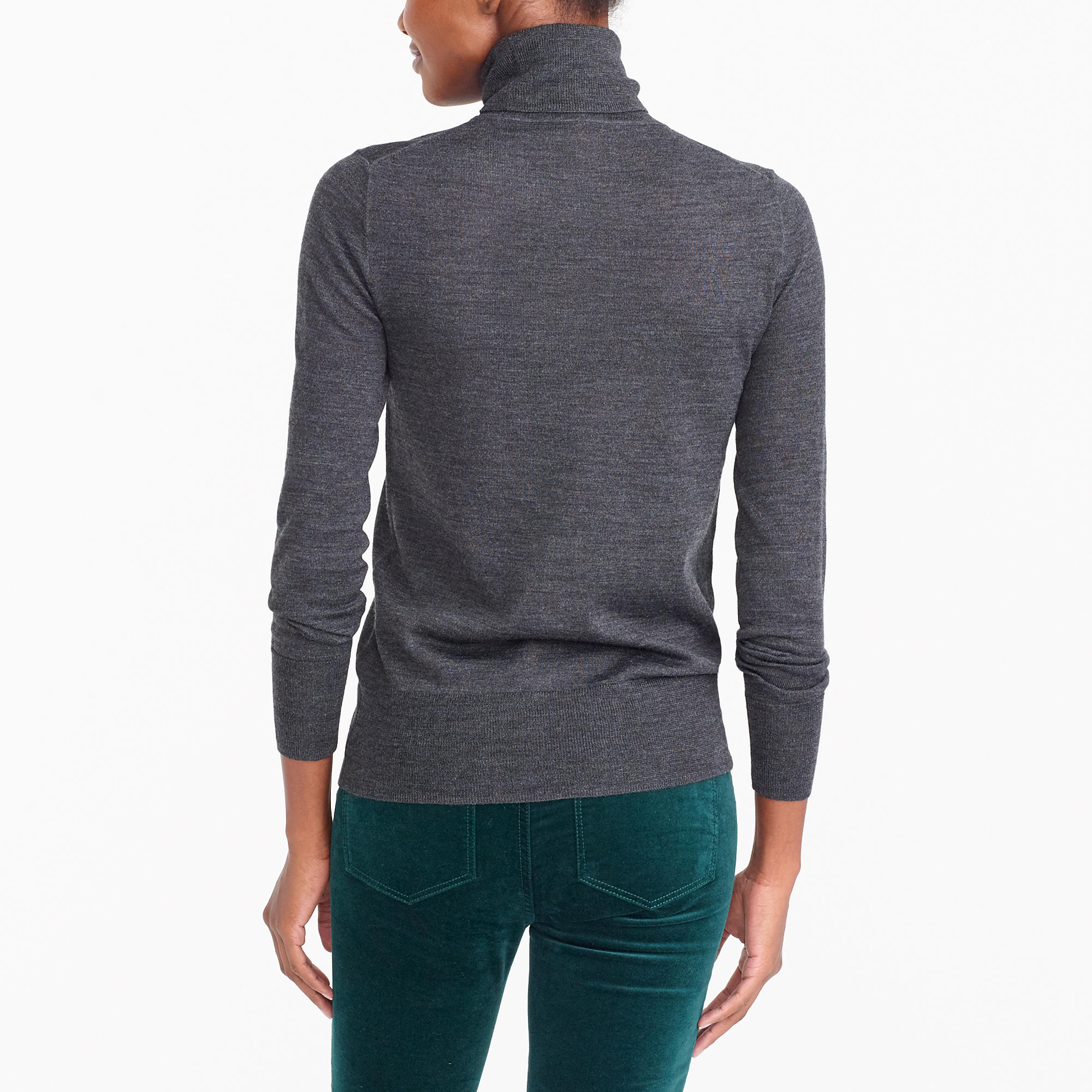 Merino wool turtleneck sweater : FactoryWomen turtlenecks | Factory