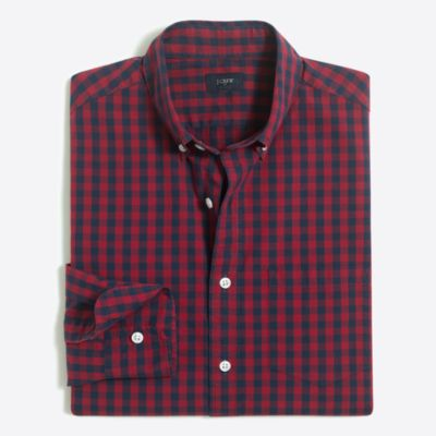 Patterned washed shirt factorymen extra-nice list deals c