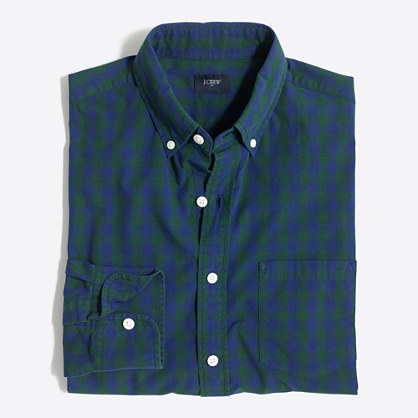 Patterned washed shirt
