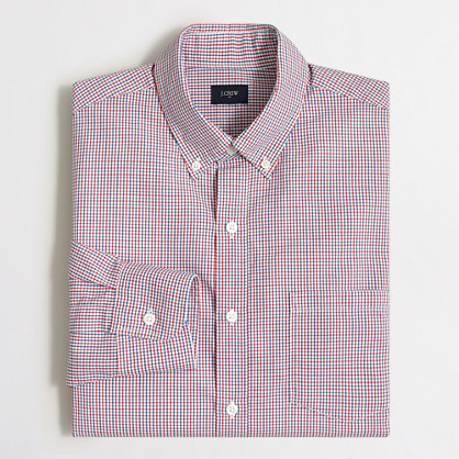 Tall patterned washed shirt