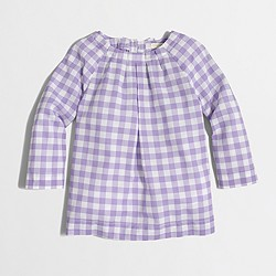 Factory girls' bow-back top