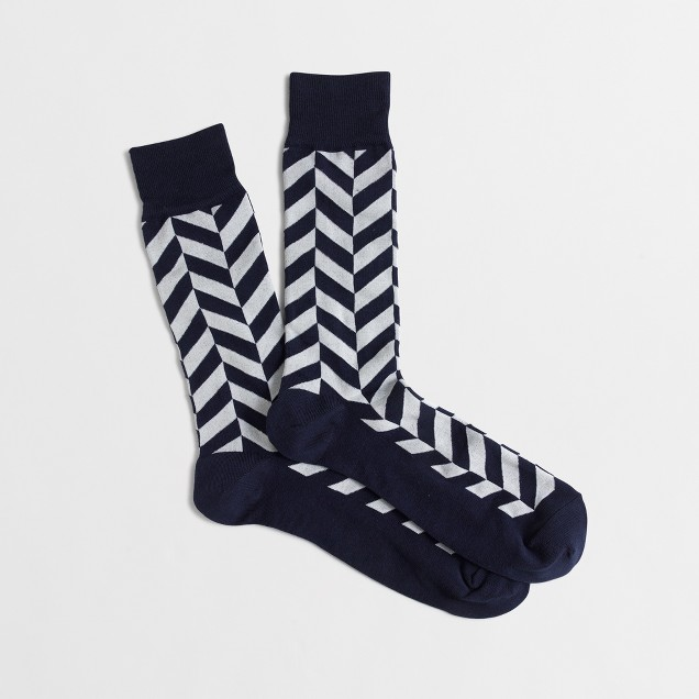 Herringbone socks