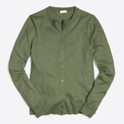 Cotton Caryn cardigan sweater