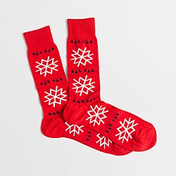 Snowflake socks