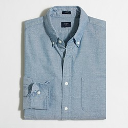 Factory slim broken-in oxford shirt