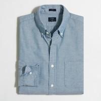 Slim broken-in oxford shirt