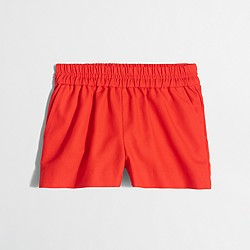 Factory girls' boardwalk pull-on short