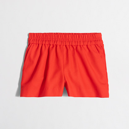 Girls' boardwalk pull-on short