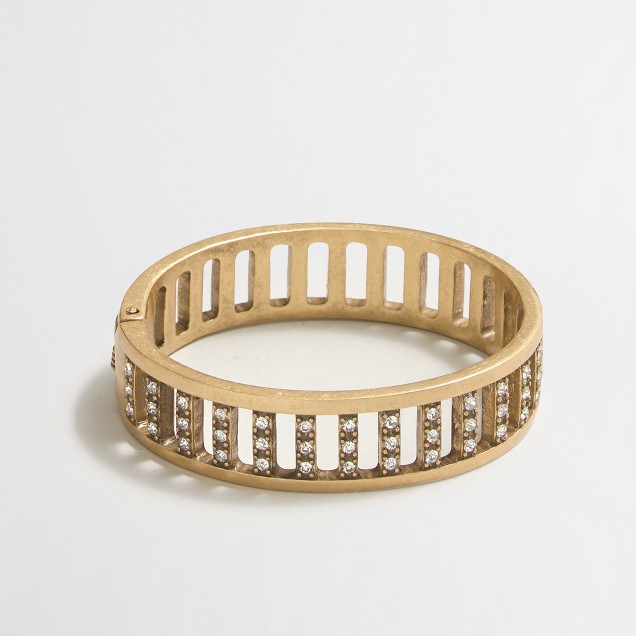 Crystal bars bracelet
