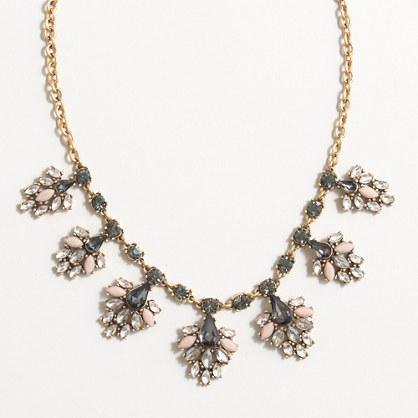 Drop-clusters necklace