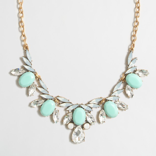Flying stones necklace