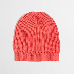 Factory neon knit hat