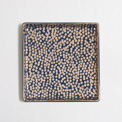 Square jewelry tray