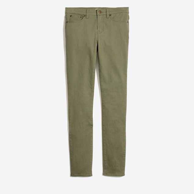 "Skinny 5-pocket pant with 28"" inseam"
