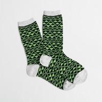 Triangle links trouser socks