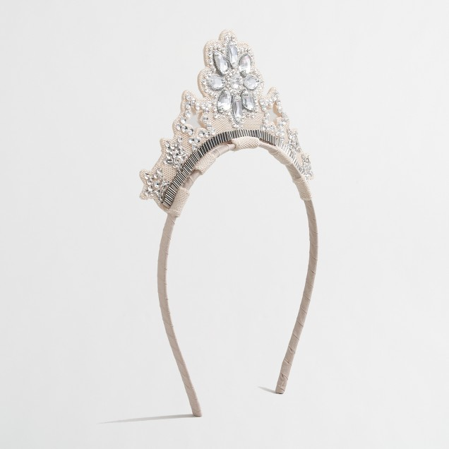 Girls' snowflake crown