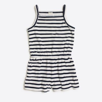 Girls' printed terry romper factorygirls new arrivals c