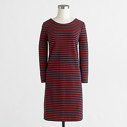 Factory striped knit dress