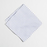 Oxford cloth pocket square