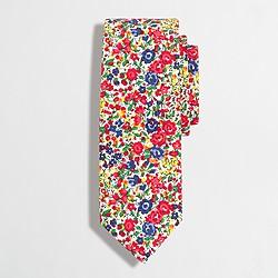 Factory floral tie