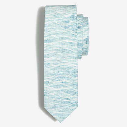 Printed Cotton tie