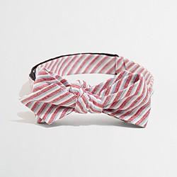 Factory linen bow tie