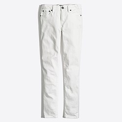 "Factory white skinny jean with 30"" inseam"