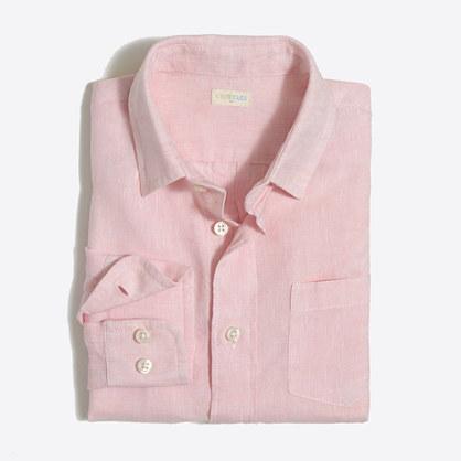 Boys' linen shirt