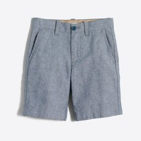 Boys' Gramercy short in blue chambray