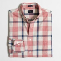 Slim lightweight jaspé shirt