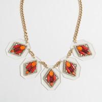 Jeweled diamonds necklace