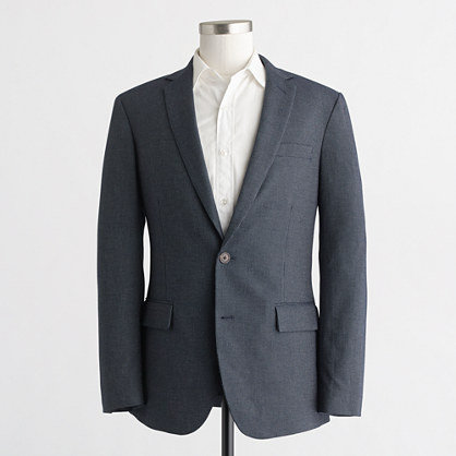 Thompson blazer in microdot cotton