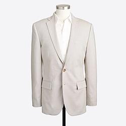 Factory Thompson suit jacket in flex cotton