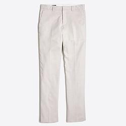 Factory Thompson slim suit pant in flex cotton