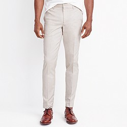 Slim Thompson suit pant in flex cotton