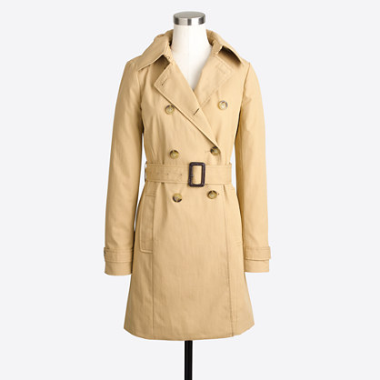 J.Crew Factory Trench Coat