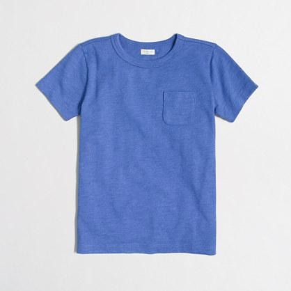 Boys' heathered pocket T-shirt