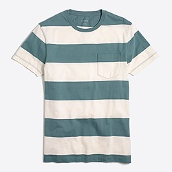 Slim surf-striped T-shirt