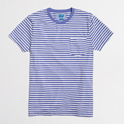 Slim microstriped T-shirt