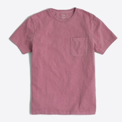Tall sunwashed garment-dyed T-shirt