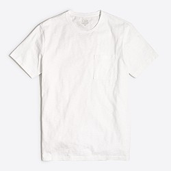 Sunwashed garment-dyed T-shirt