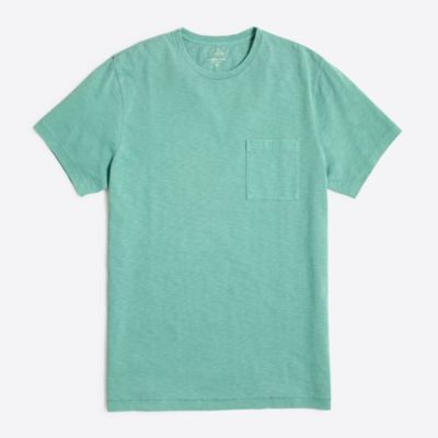 Tall sunwashed garment-dyed T-shirt factorymen tall c