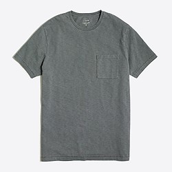 Slim sunwashed garment-dyed T-shirt