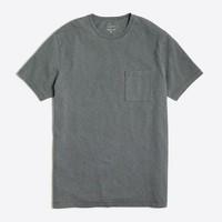 Slim sunwashed garment-dyed T-shirt