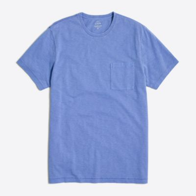 Sunwashed garment-dyed T-shirt factorymen new arrivals c