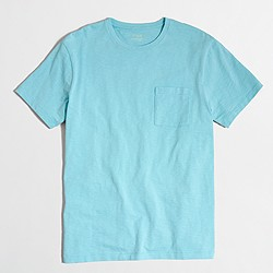 Factory slim sunwashed garment-dyed T-shirt